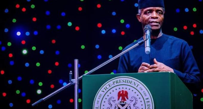 Osinbajo: If Nigeria breaks up, all of us will lose out