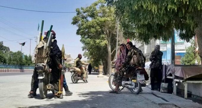 Taliban fighters invade Afghanistan's capital, demand 'transfer of power'