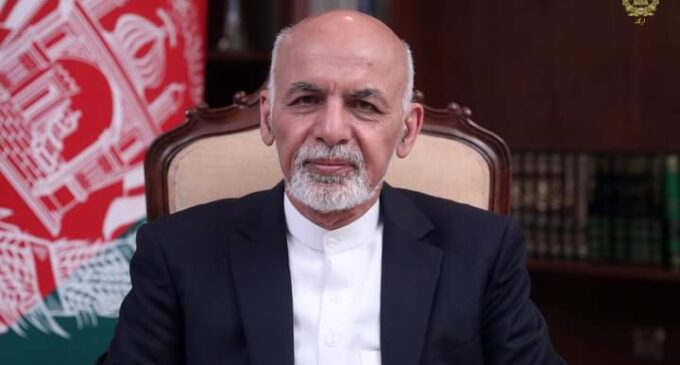 'Taliban have won' — Afghan president says he fled country to 'avoid bloodshed'
