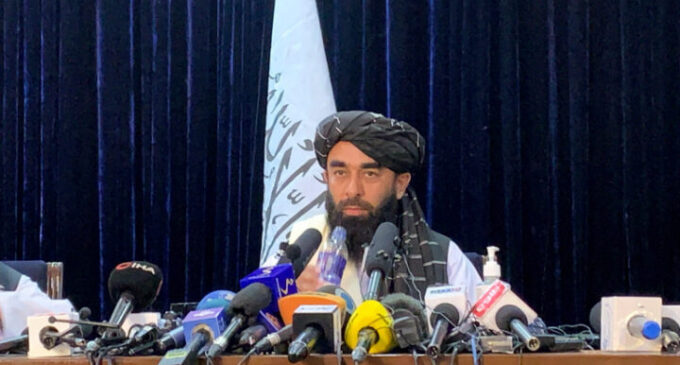 Taliban: Afghanistan won't be used as terror haven… women will be allowed to work