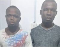 Police arrest two suspects over kidnapping of 8-year-old boy in Lagos
