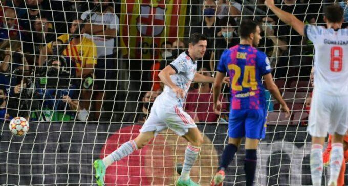 UCL results: Bayern win at Barcelona as Young Boys stun Man United
