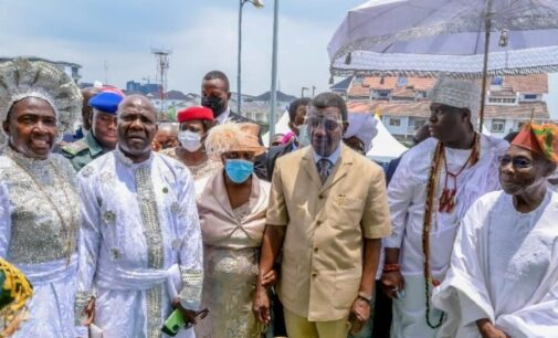 Obasanjo, Adeboye, Ooni in attendance as Esther Ajayi unveils cathedral in Lagos