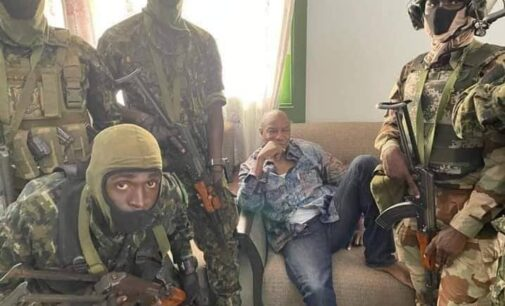Alpha Conde detained as military seizes power in Guinea