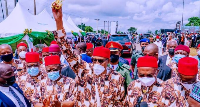 Orji Kalu: President's visit to south-east will clear lies that he is not Buhari