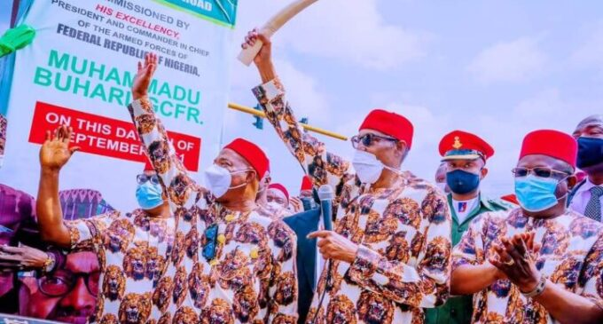 'He was overwhelmed by the reception' — Buhari's comment on 'future invitations' to Imo clarified
