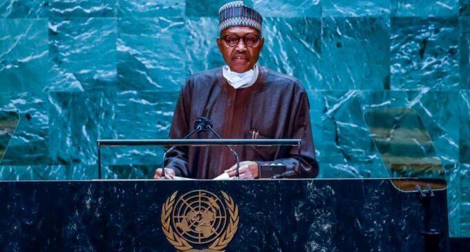 Coups eroding democratic gains of West Africa, Buhari tells world leaders at UNGA