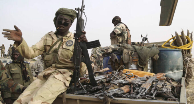 'Chadian soldiers sell arms when broke' — Nigerian navy laments arms proliferation