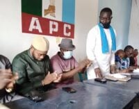 Another Rivers rep dumps PDP for APC