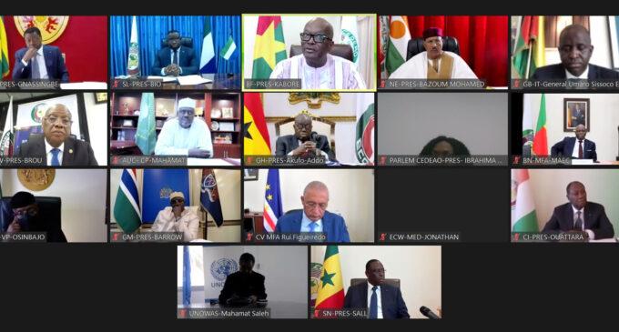 ECOWAS suspends Guinea's membership over coup