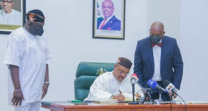Akwa Ibom governor signs anti-open grazing bill into law