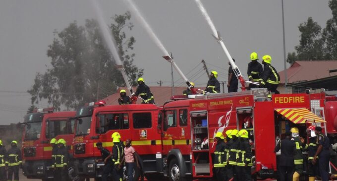 Nigeria to help DR Congo set up national fire service