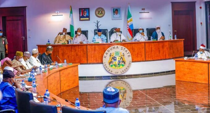 Northern governors meet in Kaduna over VAT controversy, insecurity