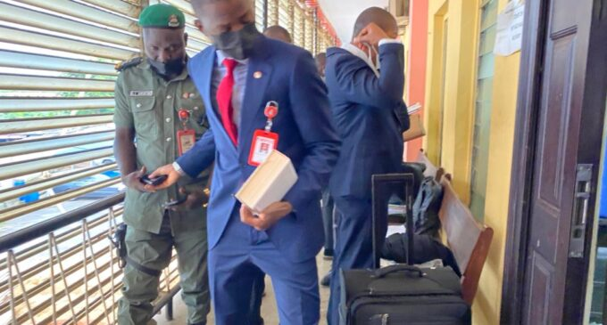 PHOTOS: Bawa appears in court to testify on subsidy scam