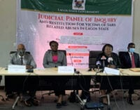 #EndSARS: Lagos panel concludes sitting, awards N148.2m to 23 victims of police brutality
