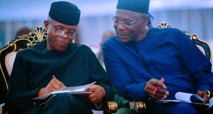 Nasarawa governor: APC will support Osinbajo for 2023 presidency if he declares interest