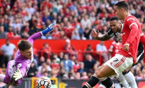 EPL results: Ronaldo scores brace as Man United go top of table