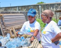 WATCH: How 2.5m tonnes of plastic waste changed the lives of 2000 women and children in Lagos
