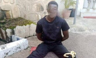 Troops arrest 'police sergeant with 370 rounds of ammunition' in Plateau