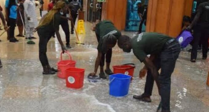 'Dangerous for lawmakers' — reps minority leader laments leaking roof of n'assembly complex