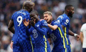 EPL round-up: Chelsea thrash Tottenham as Ronaldo scores in Man United win