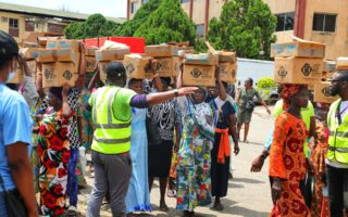 NGO distributes items to Lagos residents to mark World Food Day