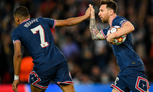 UCL results: Salah, Messi net brace in Liverpool, PSG wins