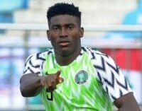 Awoniyi replaces injured Moffi for Super Eagles double-header against CAR