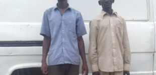 Police arrest two for 'supplying fuel' to bandits