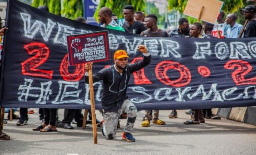 One year after #EndSARS — but no lessons learnt
