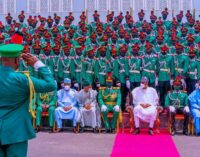 PHOTOS: Buhari, el-Rufai, Lawan attend passing-out parade of NDA cadets