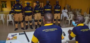 Lagos agency suspends officers over assault of driver during #EndSARSMemorial
