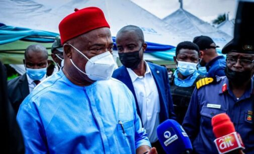 Uzodinma: Sit-at-home order being politicised… it's no longer obeyed in Imo