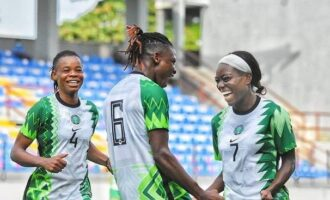 AWCON qualifiers: Falcons progress to final round despite defeat in Ghana
