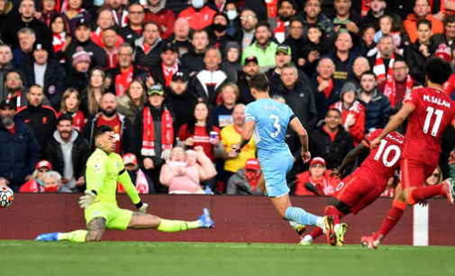 EPL round-up: Man City snatch draw at Liverpool as Iheanacho scores for Leicester