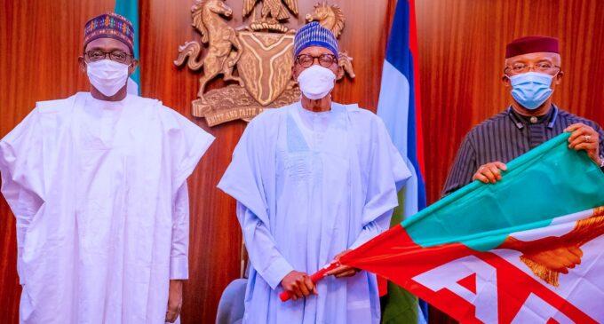 Anambra deputy governor dumps APGA for APC, meets with Buhari