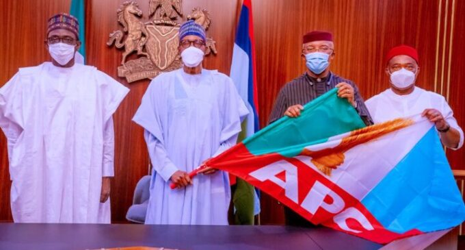 'APC luring political deadwood' — APGA speaks on defection of Anambra deputy governor