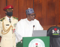 Nigeria's debt rising because we spent our way out of recessions, says Buhari