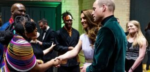 PHOTOS: Yemi Alade meets Prince Williams, Duchess Kate in UK