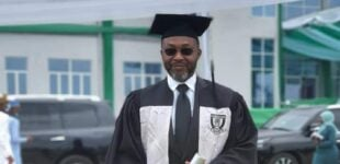 'Studying with under 20s was humbling' — Osita Chidoka bags law degree from Baze varsity
