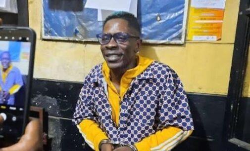 Ghanaian police arrest Shatta Wale over 'fake gun attack'