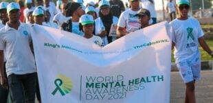 PHOTOS: TheCable supports mental health awareness walk in Minna