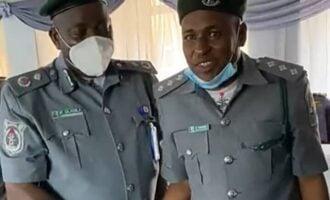 FACT CHECK: Did customs recruit repentant Boko Haram member as officer?