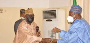 EXTRA: Fiscal commission honours Ganduje for 'efforts in anti-corruption drive'