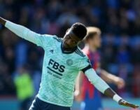 Eagles in Europe: Iheanacho scores first EPL goal of season as Odey continues brilliant form