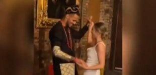 VIDEO: Ndidi, Iheanacho grace Troost-Ekong's wedding in UK